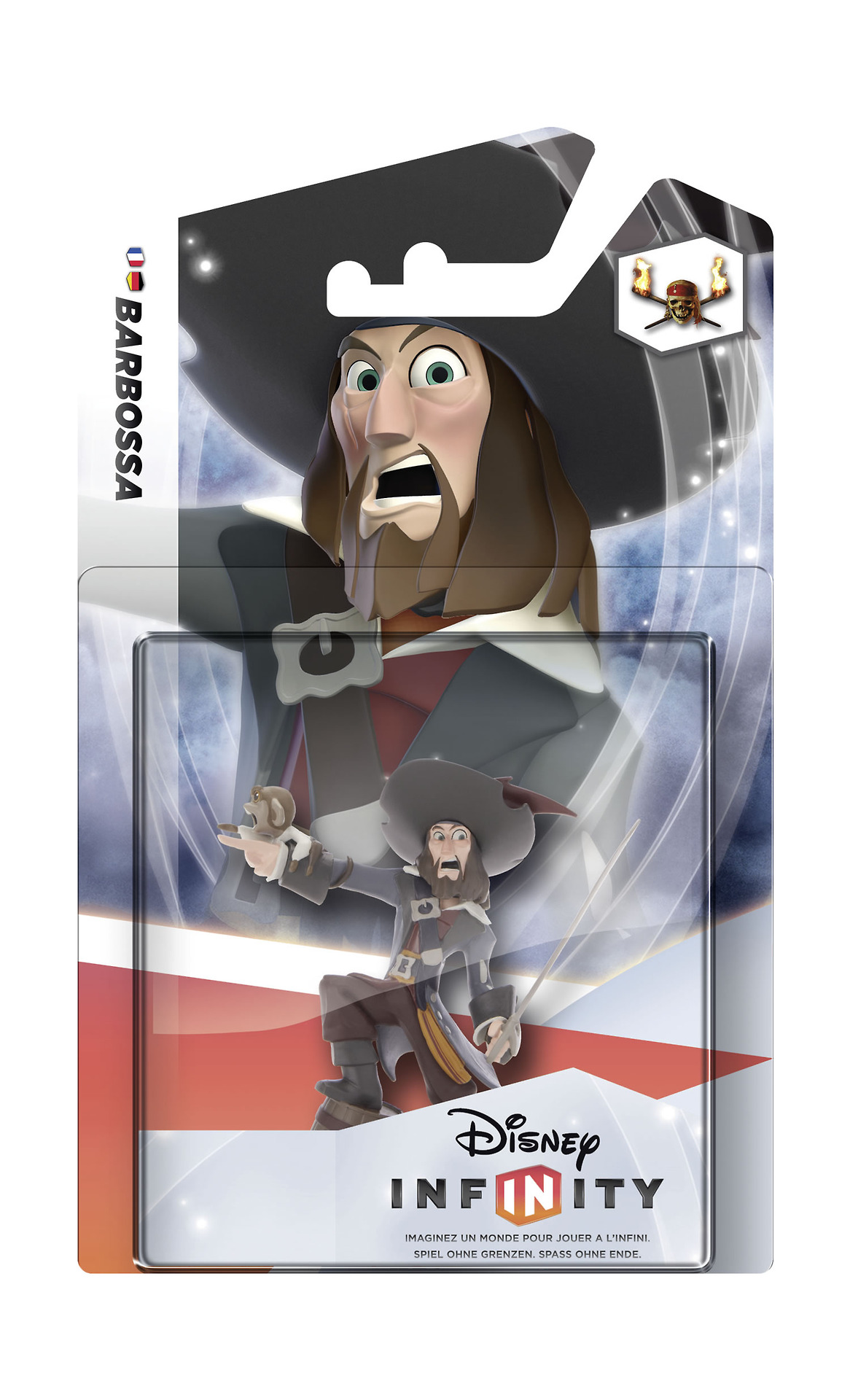 Disney Infinity: Figurka Barbossa (Piráti) OEM