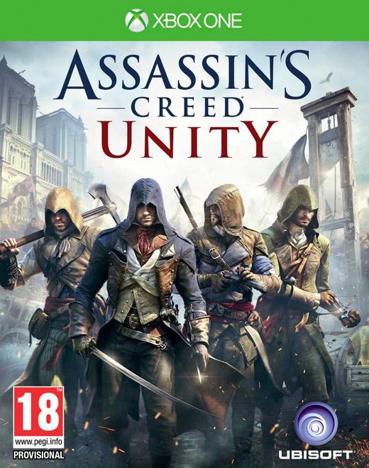 UbiSoft Assassins Creed: Unity (XOne) Krabicová