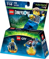 LEGO Dimensions Chase McCain Fun Pack (71266 Lego City)