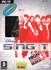 High School Musical 3: Sing It + Mikrofon (Hannah Montana - PC)