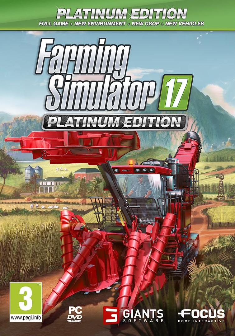 Farming Simulator 17 - Platinum Edition (PC) Krabicová