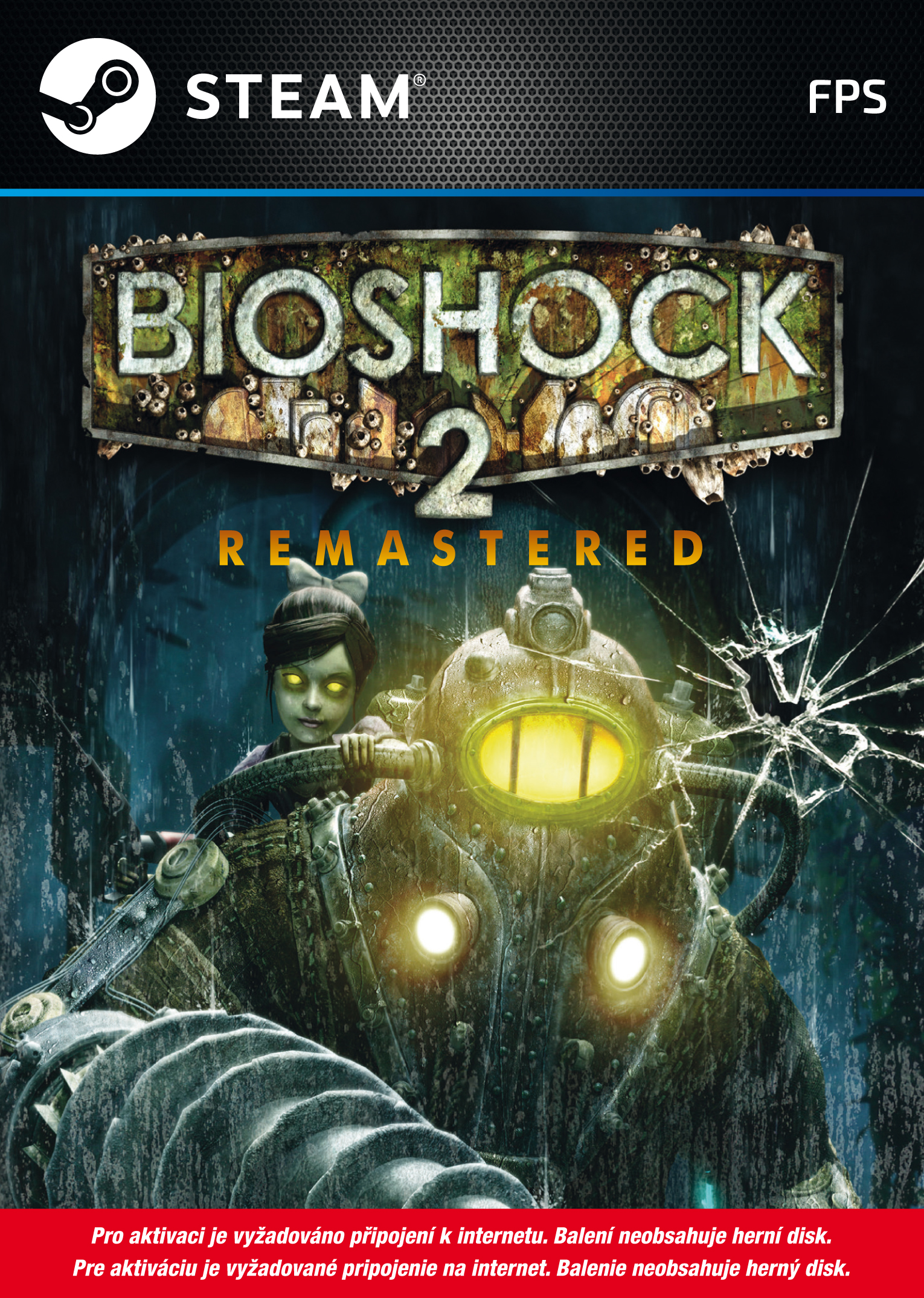 BioShock 2 Remastered (PC Steam) Krabicová