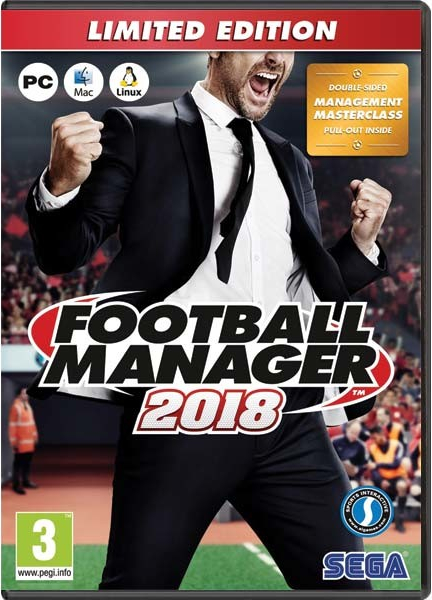 Football Manager 2018 Limitovaná Edice (PC) Krabicová
