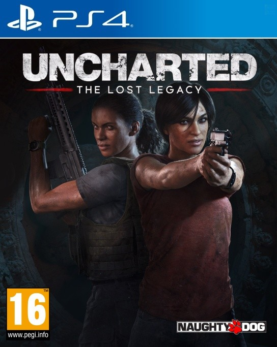 Uncharted: The Lost Legacy (PS4) Krabicová