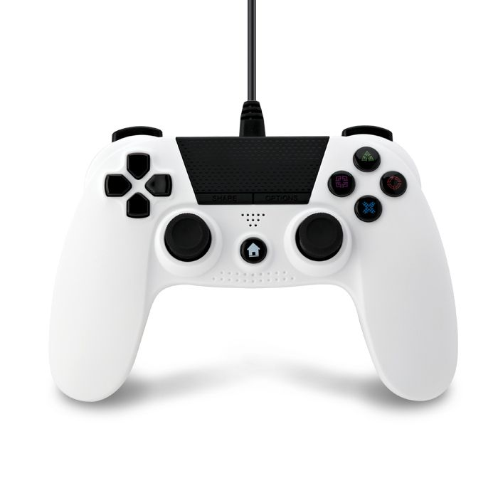 Wired Controller White V2 (PS4)