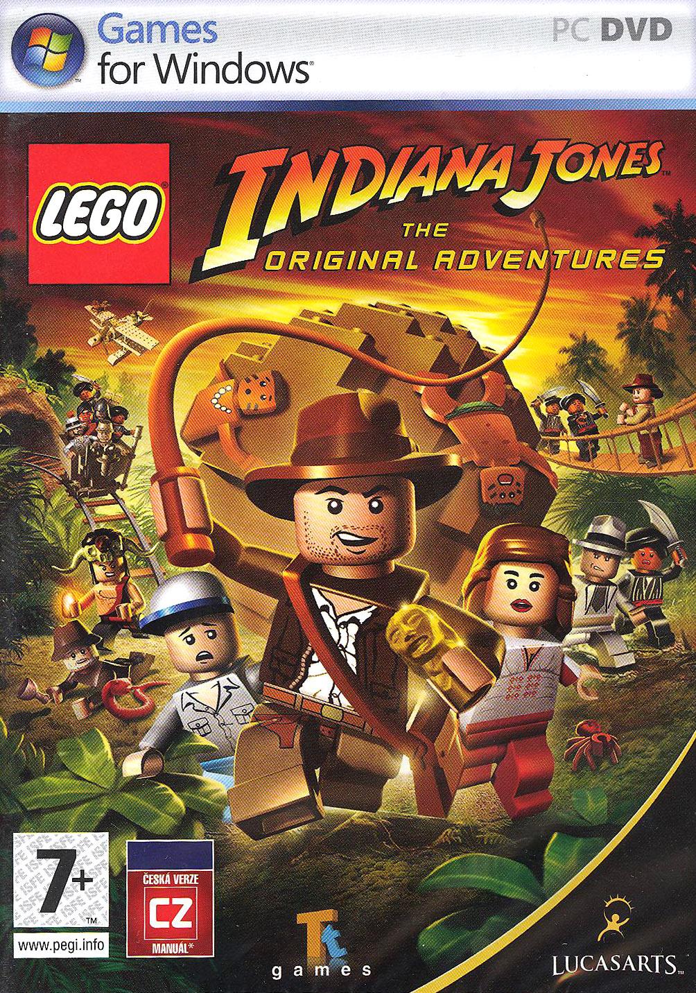LucasArts LEGO Indiana Jones (PC) Krabicová