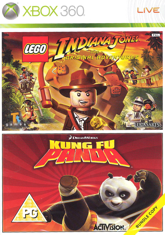 ostatní LEGO Indiana Jones + Kung Fu Panda (X360)