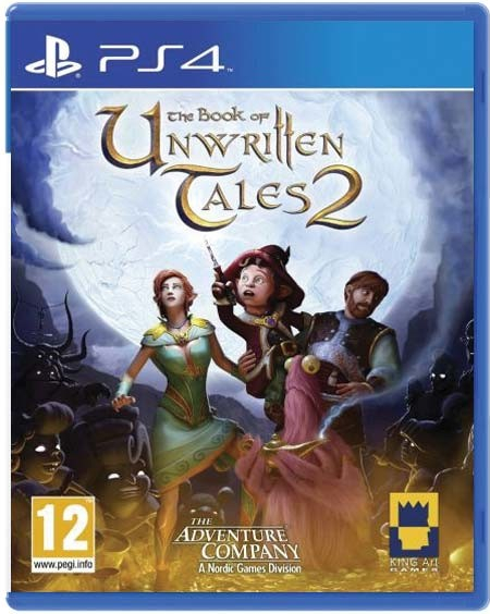 ostatní The Book of Unwritten Tales 2 (PS4)