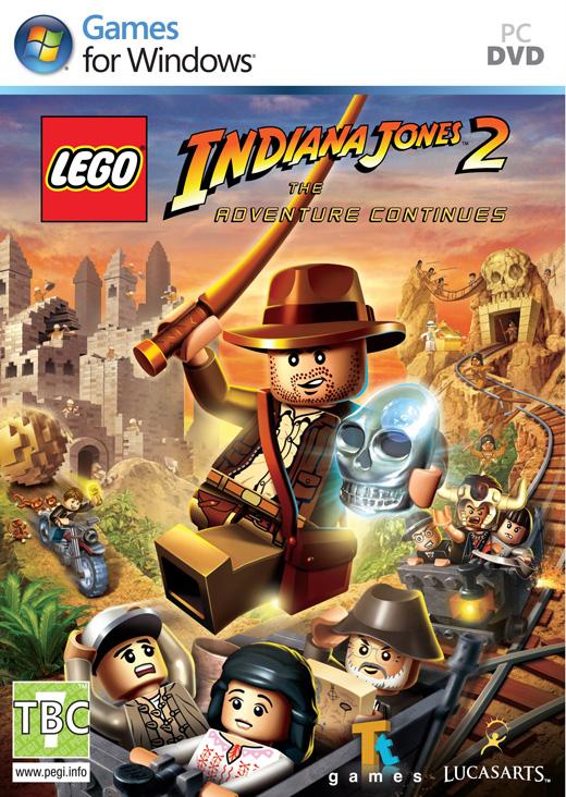 LucasArts LEGO Indiana Jones 2: The Adventure Continues (PC) Krabicová