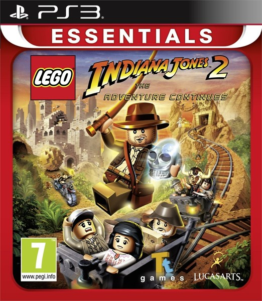 LucasArts LEGO Indiana Jones 2: The Adventure Continues (PS3)