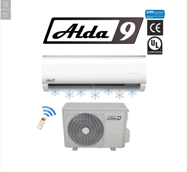 ALDA9 Klimatizace R410a Inverter Split 2,6kW
