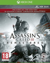 Assassins Creed 3 + Liberation Remastered (XOne)