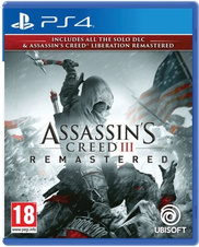Assassins Creed 3 + Liberation Remastered (PS4)