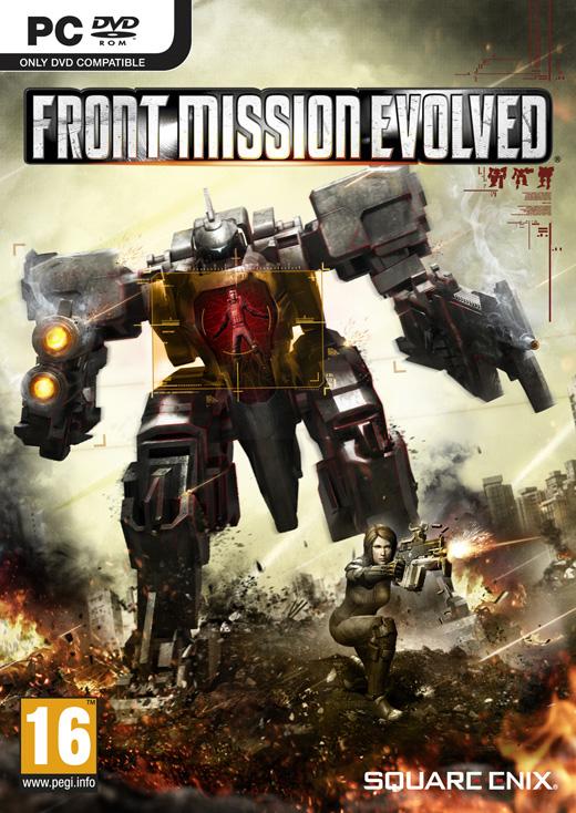 Front Mission Evolved (PC) Krabicová