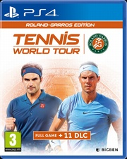 Tennis World Tour - RG Edition (PS4)