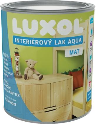 Luxol Interiérový lak Aqua 0,75l Lesk