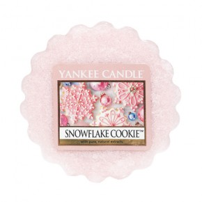 Yankee Candle Vosk do aromalampy 22g Snowflake Cookie