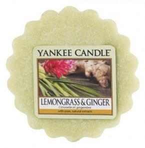Yankee Candle Vosk do aromalampy 22g Lemongrass & Ginger