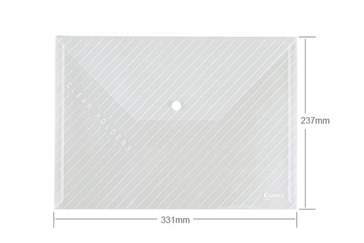 Spisové desky s drukem Comix C330 A4 Bílá