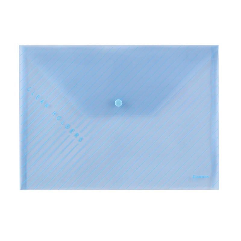 Spisové desky s drukem Comix C330 A4 Modrá
