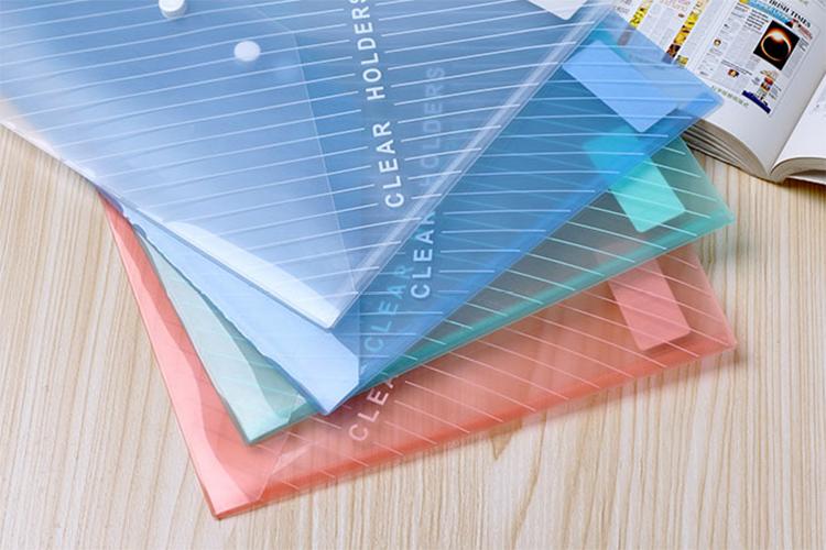 Spisové desky s drukem Comix C330 A4 Oranžová