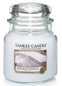 Yankee Candle svíčka 411g Angel's Wings