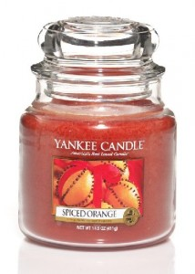 Yankee Candle svíčka 411g Spiced Orange