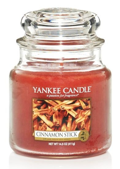 Yankee Candle Vonná svíčka Cinnamon Stick 411 g