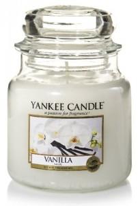 Yankee Candle svíčka 411g Vanilla