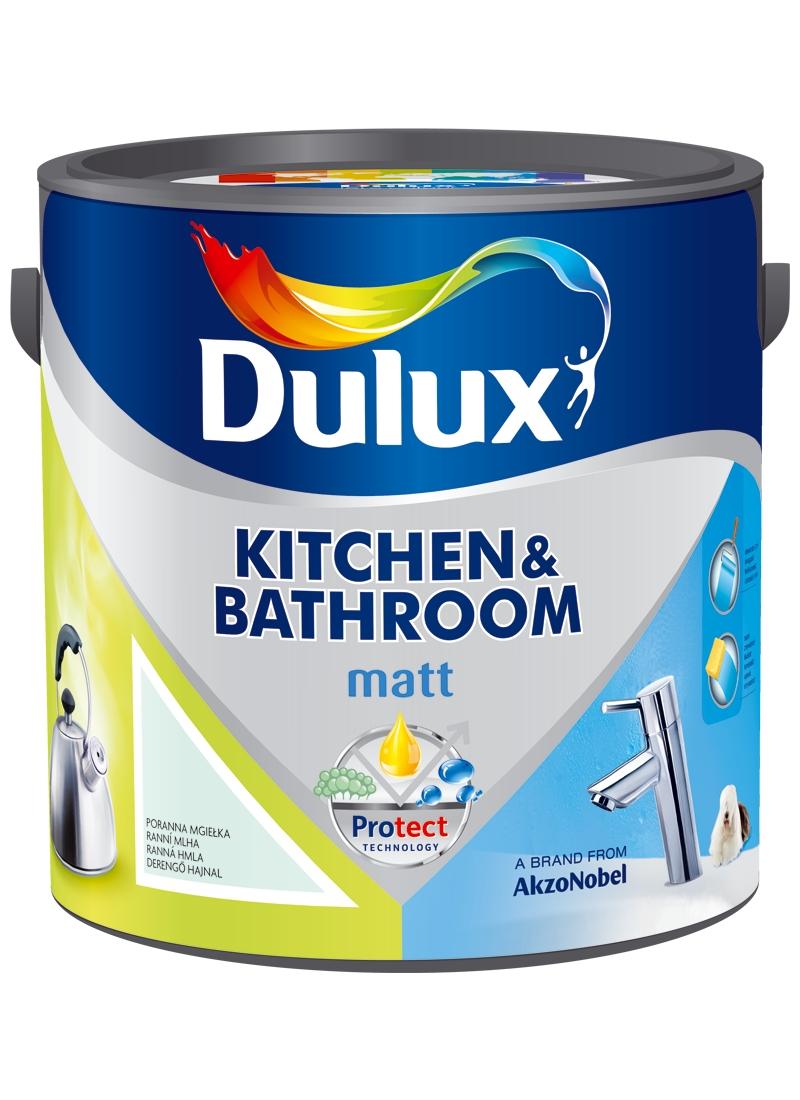 Dulux - KITCHEN & BATHROOM - 2,5l Ohnivé flamenco - MAT
